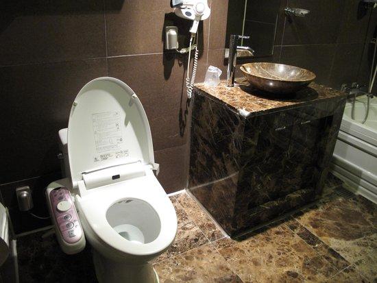 Hotel Dodo: トイレ