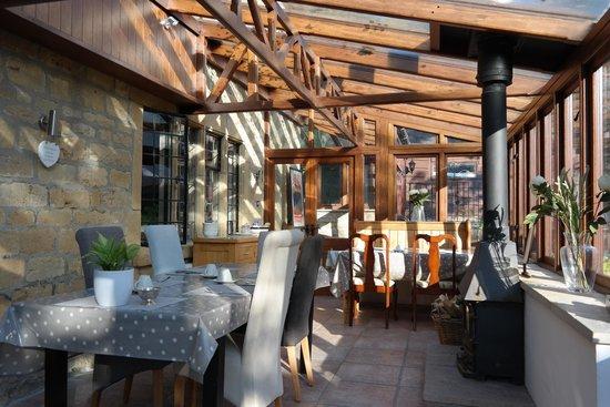 Collin House Bed & Breakfast: Breakfast area