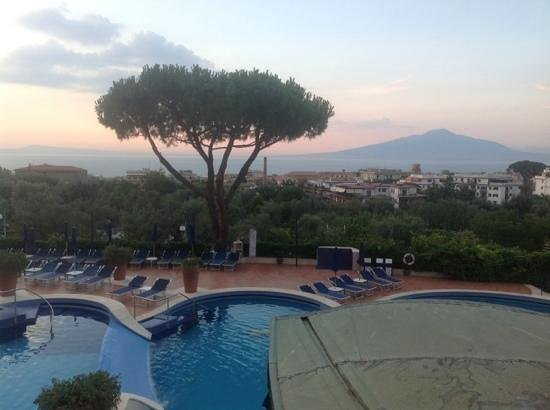 Hilton Sorrento Palace: The view to remember for ever