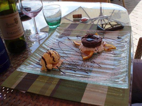 Nonna Rosa Restaurant: dolce al cioccolato
