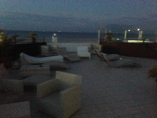 Hotel Ca' Bianca: лаунж-зона на пятом этаже
