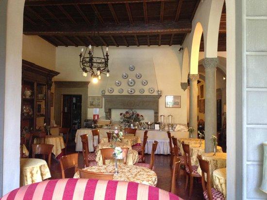 Hotel Monna Lisa: Dining/breakfast room