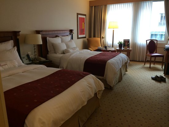 Prague Marriott Hotel: room
