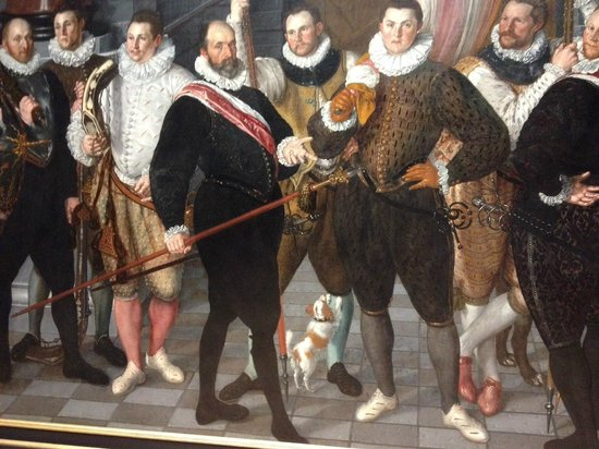 Rijksmuseum: I love the dog in this painting