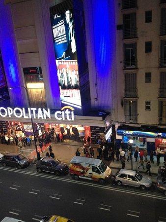 Visão da janela do Novotel Buenos Aires - Argentina