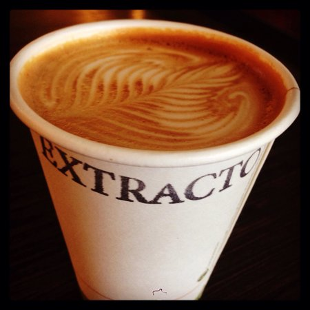 Extracto Coffeehouse: Quality caffiene! :)