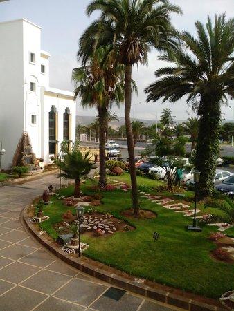 Hotel Argana : entrée