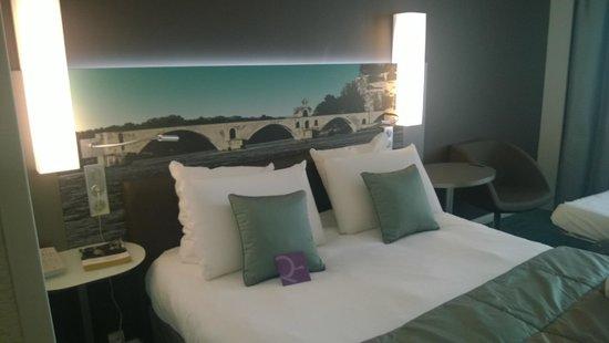 Mercure Pont d'Avignon Centre : Bed