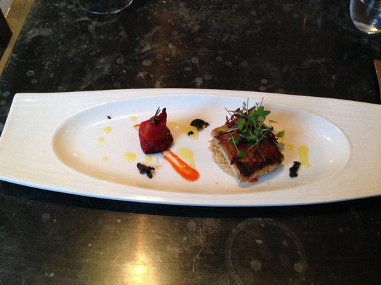 Victuals & Co: Starter - goats cheese