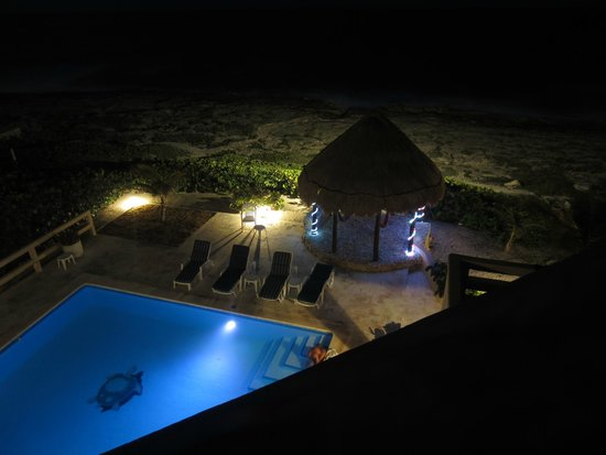 Nicte-Ha: Night on the roof top