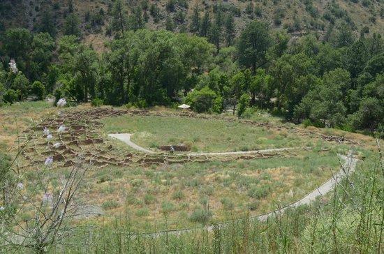 Bandelier National Monument: le rovine