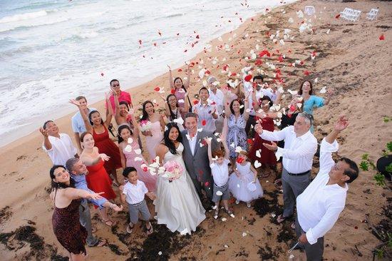 wyndham garden at palmas del mar wedding on beach - Wyndham Garden Palmas Del Mar