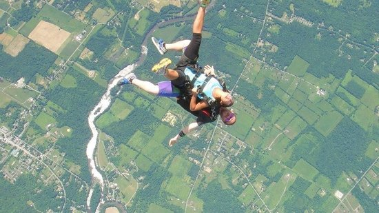 Skydive the Ranch: Upside down
