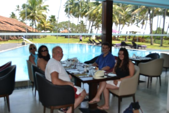 AVANI Bentota Resort & Spa: Lunch