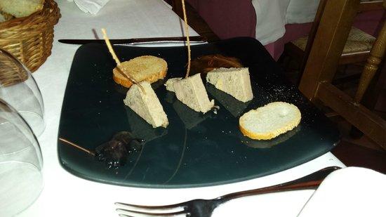 El Fogaril: Primer plato