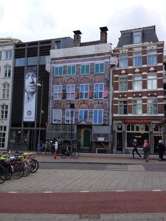 Musée de la maison de Rembrandt : Unfortunate restoration going on at the time