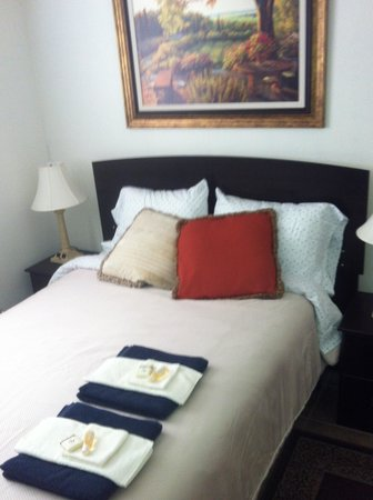 Repos & Manna B & B : Comfy beds, goodnight!!