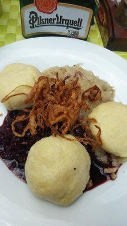 Plzensky restaurant Andel : goulash divino