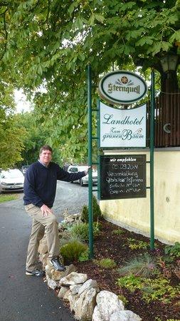 Elsterberg, Germany: Na frente do restaurante