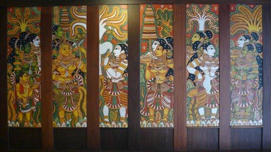 Kumarakom Lake Resort: Room Walls