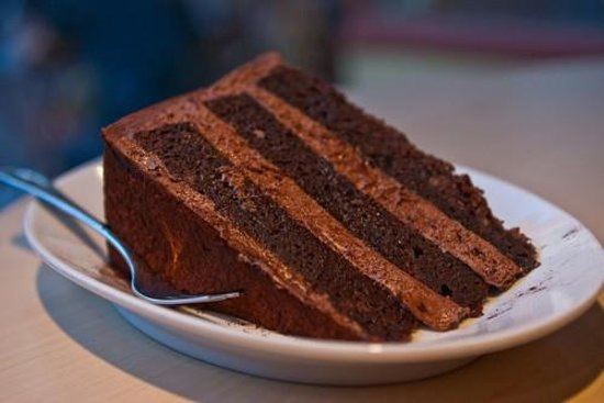 The Manor House Cafe: Chocolate Fudge Cake