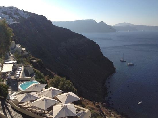 Mystique Luxury Collection Hotel: hotel pool and bar