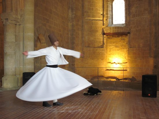 Whirling Dervish Performance Nicosia: Mesmerising Whirling Dervish - North Nicosia