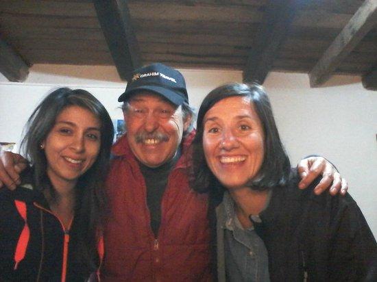Chachapoyas Backpackers Hostal : Con el propietario, un tipo genial!