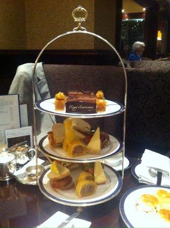 The Chester Grosvenor: Gentlemans afternoon tea, Chester Grosvenor