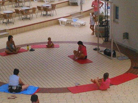 Bluesun Resort Bonaca : Yoga class