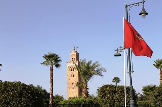 Koutoubia Mosque and Minaret: Mezquita