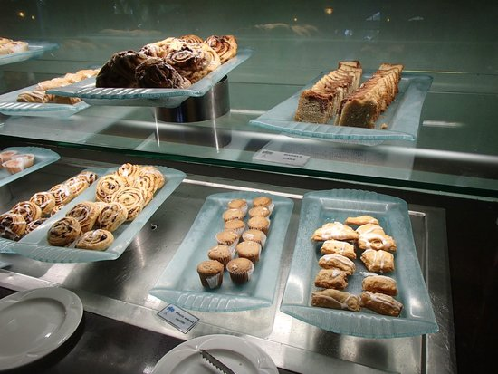 Couples Swept Away: The Palms pastry/bread buffet (breakfast)
