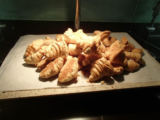 Couples Swept Away: Warm croissants -- YUM!