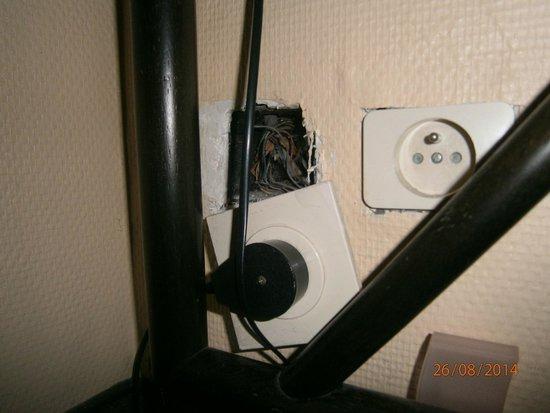 New-Astoria Hotel: Plug in room 203