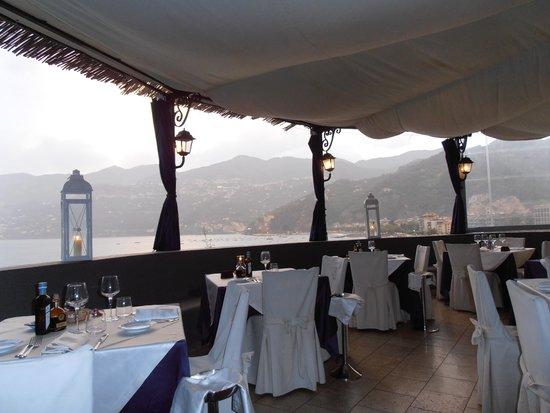 Torre Normanna Restaurant : la terrazza panoramica