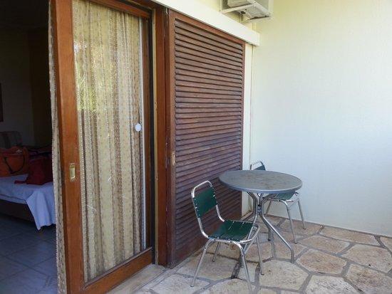Porto Rio Hotel: Το μπαλκόνι που σας έγραψα