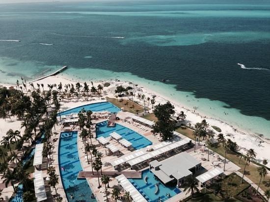 Hotel Riu Palace Peninsula: Penthouse view