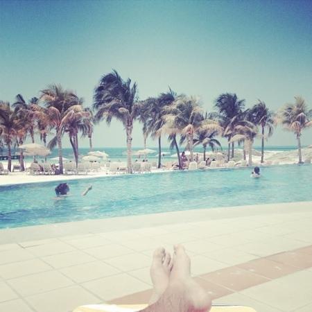 Hotel Riu Palace Peninsula: Infinity Pool