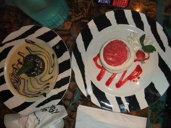 Rainforest Café: Dessert