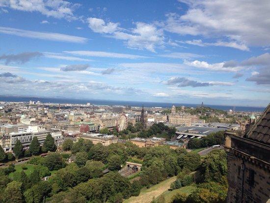 Château d'Édimbourg : Views from Edinburgh Castle