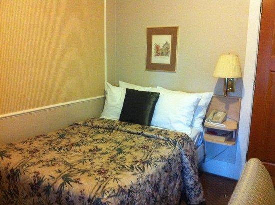 โรงแรมคิงส์ตัน: Small double bed