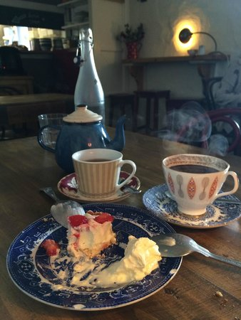 Ard Bia at Nimmo's: dessert!