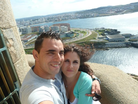 Tower of Hercules (Torre de Hercules) : VISTA SUPERIOR