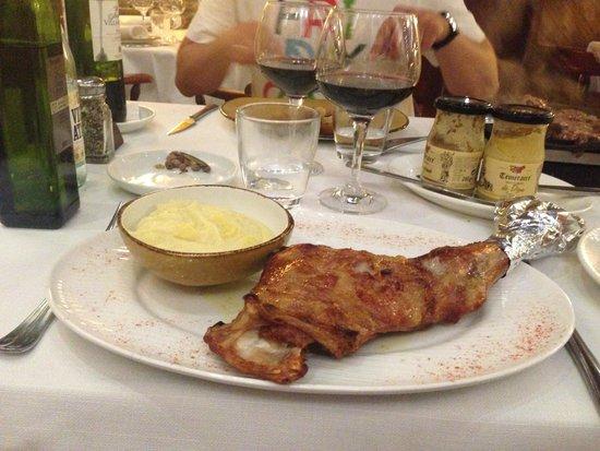 La Taberna del Cura : Нога ягненка :)