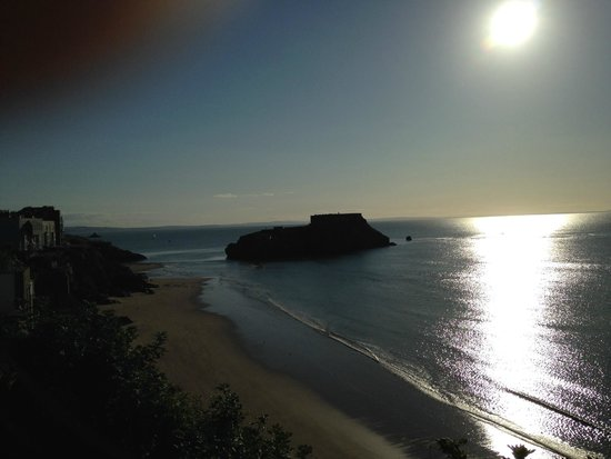 The Esplanade: Sun rise Over Tenby