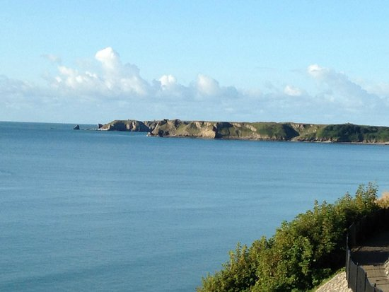 The Esplanade: From Room toward Caldey Island