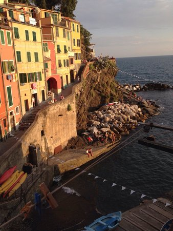 Allo Scalo dei Mille: View from the room
