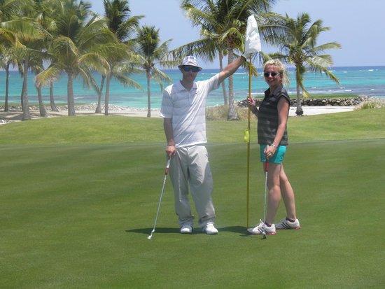 La Cana Golf Course: Beautiful spot! Great day!