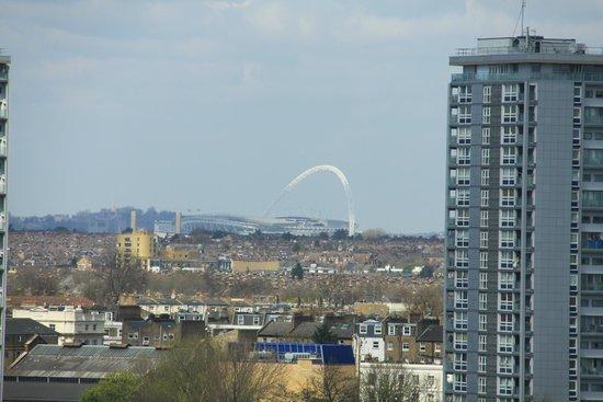 Novotel London Paddington: Vista do quarto onde estive hospedado