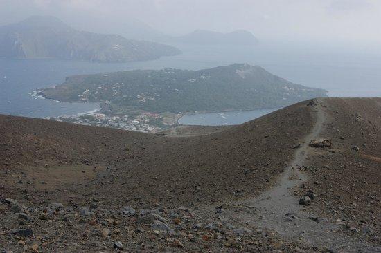 Scalata al Cratere : panorama